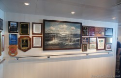 Wall decor and plaques of Norwegian Epic's Bridge Viewing Room.jpg