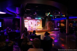 Karaoke time at Bliss lounge Norwegian Epic.jpg