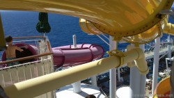Puprle and yellow water slides of Norwegian Epic.jpg