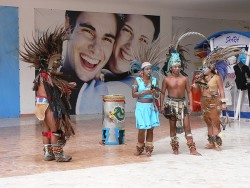 Mayan Dancers in Cozumel Mexico.jpg