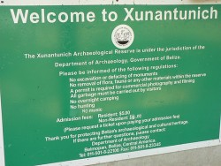 Welcome to Xunantunich in Belize City.jpg