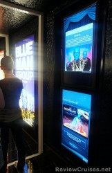 Blue Man Group posters outside the Epic Theater aboard the Norwegian Epic.jpg