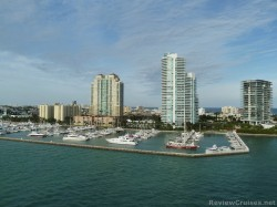 Oceanfront condos and hotels and yachts docked near Port of Miami as viewed from Norwegian Epic.jpg