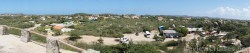 Panoramic view of a section of Aruba from top of rock structure of Casibari Park Aruba.jpg
