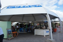 Curacao cruise port area shopping tent.jpg