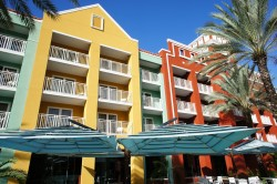 Colorful buildings of Renaissance Resort Willemstad Curacao.jpg