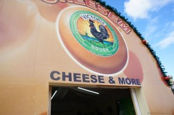 Cheesem Victoria Gouda cheese store at cruise port area Willemstad Curacao.jpg