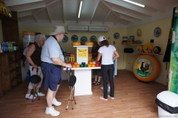 Inside Cheesem store offering Victoria Gouda cheese at cruise port of Willemstad Curacao.jpg