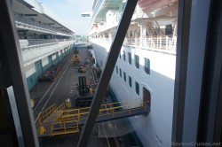 Ramp going to cruise ship at Port of Los Angeles Cruise Terminal.jpg
