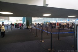 Check-in area at Port of Los Angeles Cruise Terminal.jpg