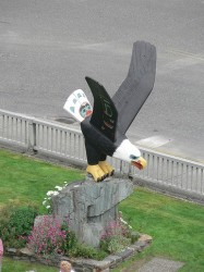 Bald Eagle Statue in Ketchikan Alaska.jpg