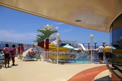 Port side deck above pool deck aboard the Norwegian Pearl.jpg