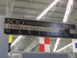 300th Anniversary Sign of Port of Baltimore Maryland.jpg