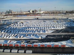 Snow Covered Cars at Baltimore Cruise Port Parking Lot.jpg