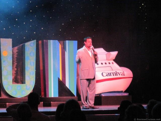Carnival Pride Cruise Director Kirk Benning December 2009 ...