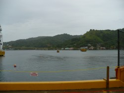 Arrive dand docked at Roatan!
