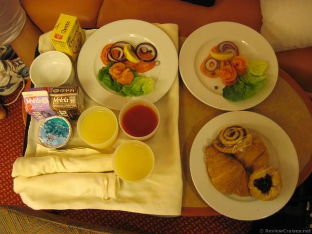 Carnival Pride Room Service Breakfastjpg HiRes 1440P QHD