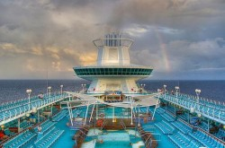 Majesty of the Seas Pool Deck with Rainbow in Background.jpg