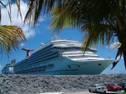 Carnival Glory docked in the Southern Caribbean.jpg