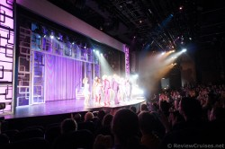 Legally Blonde Cast gather on stage at the theater aboard Norwegian Getaway.jpg