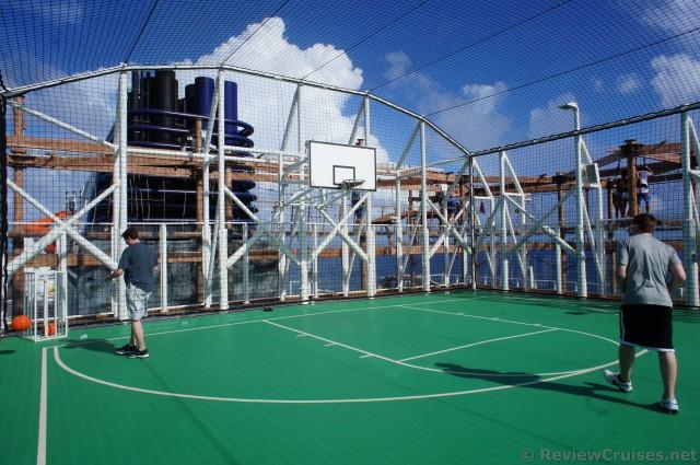 Norwegian Getaway Sports Complex Basketball Court Jpg Hi