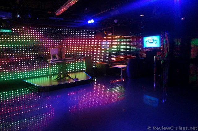 DJ Stage inside the Norwegian Getaway Bliss Ultra Lounge.jpg