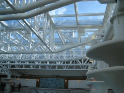 Roof of the indoor pool on the Grand Princess.jpg