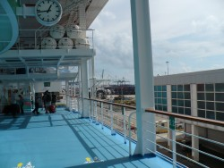 NCL Sun - Deck 5 Outside
