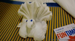 Peacock Towel Animal aboard the Carnival Breeze.jpg