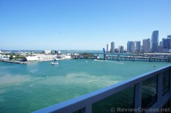 NE 6th St Port Blvd seen from Carnival Breeze as it prepares to leave Miami.jpg