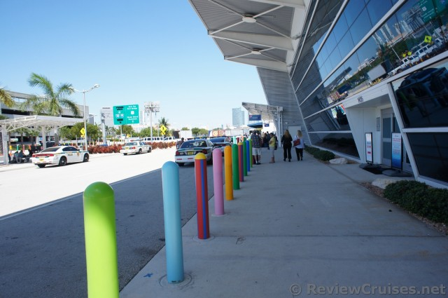 Entrance to Carnival Cruise Terminal at Port of Miami.jpg