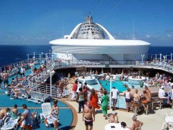 View of the pool deck on the Golden Princess.jpg