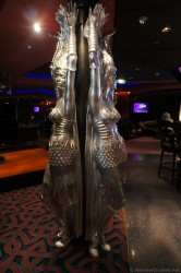 Norwegian Gem Bliss Lounge Women in Armor statues.jpg