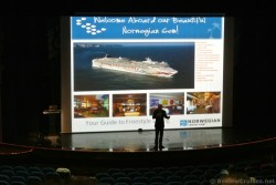 Ship tour presentation at Stardust Theater Norwegian Gem on embarkation day.jpg