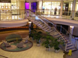 Crystal Cruises midships atrium area on Crystal Deck and Tiffany Deck.jpg