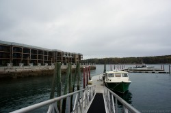 Ramp to pier from tender boat at Bar Harbor Maine.jpg