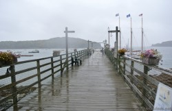 Pier for Margaret Todd 4 mast Schooner ship Bar Harbor Maine.jpg