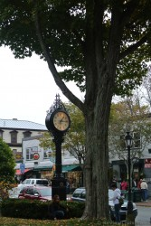 Clock post on Main St Bar Harbor Maine.jpg