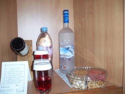 Celebrity Century Private Bar contents.jpg