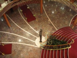 Staircases and atrium of the Celebrity X Century cruise ship.jpg