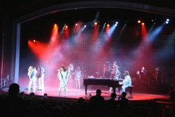 ABBA tribute band perform on stage aboard the Independence of the Seas.jpg