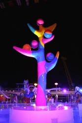 A colorful statue aboard the Independence of the Seas.jpg