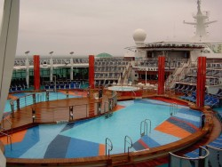 Two pools aboard the Independence of the Seas.jpg