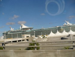 Royal Caribbean Liberty of the Seas docked at the Port of Miami