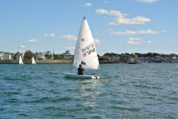 Single Person Sail Boat off the waters of Newport Rhode Island.jpg