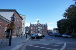 Looking towards Colony House in Newport Rhode Island.jpg