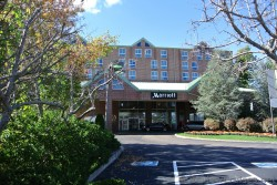Entrance to Newport Rhode Island Marriot Hotel.jpg