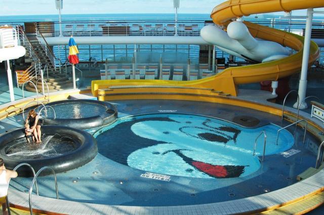 Mickey Pool On The Disney Magic Cruise Ship.jpg Hi-Res 720p HD