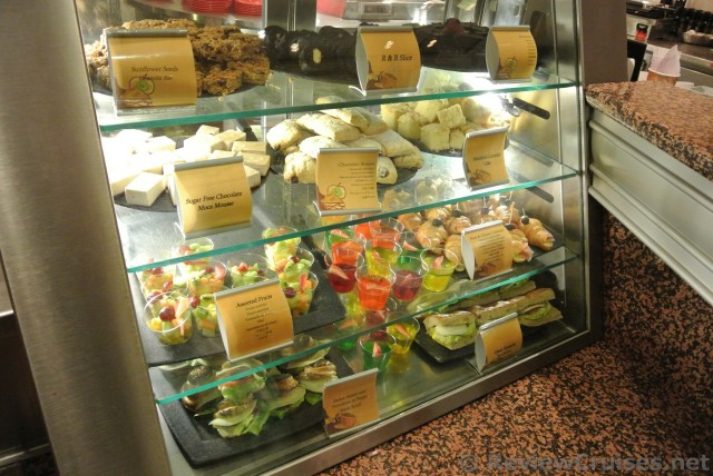 Dessert Sandwiches Available At Promenade Cafe Royal Caribbean