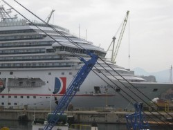 The Carnival Splendor being built in Italy.jpg